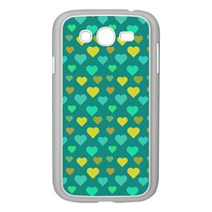 Hearts Seamless Pattern Background Samsung Galaxy Grand DUOS I9082 Case (White)