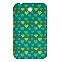 Hearts Seamless Pattern Background Samsung Galaxy Tab 3 (7 ) P3200 Hardshell Case