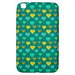 Hearts Seamless Pattern Background Samsung Galaxy Tab 3 (8 ) T3100 Hardshell Case