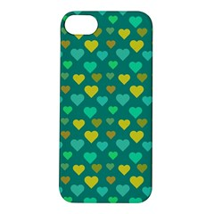 Hearts Seamless Pattern Background Apple iPhone 5S/ SE Hardshell Case