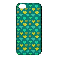Hearts Seamless Pattern Background Apple Iphone 5c Hardshell Case