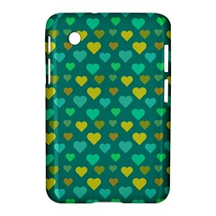 Hearts Seamless Pattern Background Samsung Galaxy Tab 2 (7 ) P3100 Hardshell Case