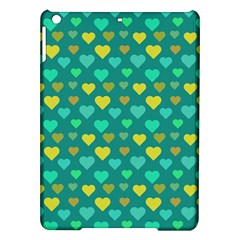 Hearts Seamless Pattern Background Ipad Air Hardshell Cases