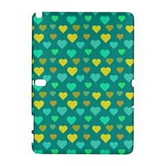 Hearts Seamless Pattern Background Galaxy Note 1
