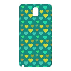 Hearts Seamless Pattern Background Samsung Galaxy Note 3 N9005 Hardshell Back Case