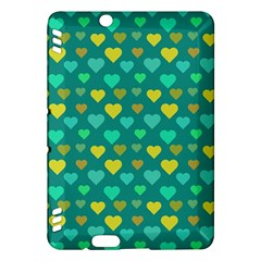 Hearts Seamless Pattern Background Kindle Fire Hdx Hardshell Case