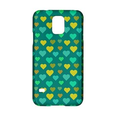 Hearts Seamless Pattern Background Samsung Galaxy S5 Hardshell Case