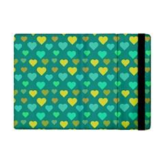 Hearts Seamless Pattern Background iPad Mini 2 Flip Cases