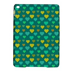 Hearts Seamless Pattern Background iPad Air 2 Hardshell Cases