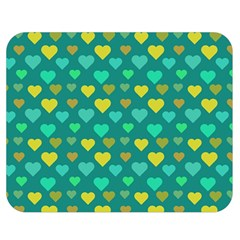 Hearts Seamless Pattern Background Double Sided Flano Blanket (medium)