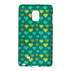 Hearts Seamless Pattern Background Galaxy Note Edge