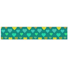Hearts Seamless Pattern Background Flano Scarf (large)