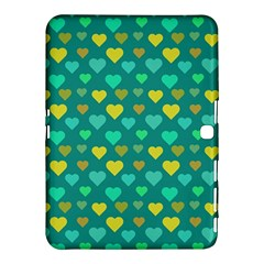 Hearts Seamless Pattern Background Samsung Galaxy Tab 4 (10.1 ) Hardshell Case