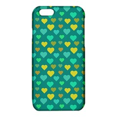 Hearts Seamless Pattern Background iPhone 6/6S TPU Case