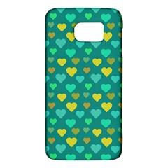Hearts Seamless Pattern Background Galaxy S6