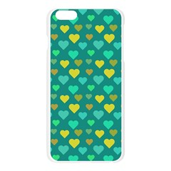 Hearts Seamless Pattern Background Apple Seamless iPhone 6 Plus/6S Plus Case (Transparent)