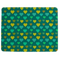 Hearts Seamless Pattern Background Jigsaw Puzzle Photo Stand (Rectangular)