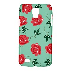 Red Floral Roses Pattern Wallpaper Background Seamless Illustration Galaxy S4 Active