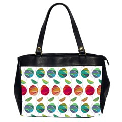 Watercolor Floral Roses Pattern Office Handbags (2 Sides)