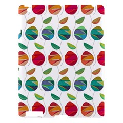 Watercolor Floral Roses Pattern Apple iPad 3/4 Hardshell Case