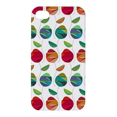 Watercolor Floral Roses Pattern Apple iPhone 4/4S Premium Hardshell Case