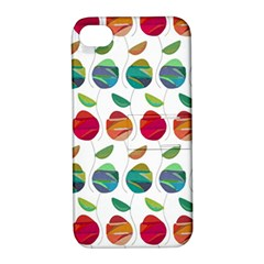 Watercolor Floral Roses Pattern Apple iPhone 4/4S Hardshell Case with Stand