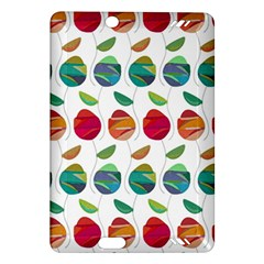 Watercolor Floral Roses Pattern Amazon Kindle Fire Hd (2013) Hardshell Case