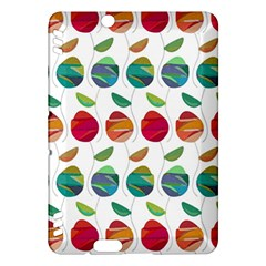 Watercolor Floral Roses Pattern Kindle Fire HDX Hardshell Case