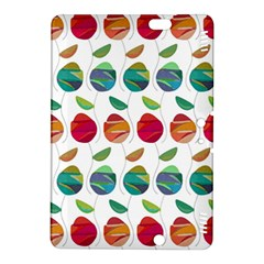Watercolor Floral Roses Pattern Kindle Fire HDX 8.9  Hardshell Case