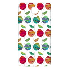 Watercolor Floral Roses Pattern Galaxy Note 4 Back Case