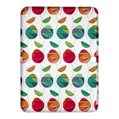 Watercolor Floral Roses Pattern Samsung Galaxy Tab 4 (10 1 ) Hardshell Case