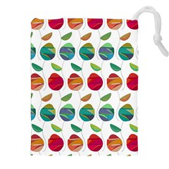 Watercolor Floral Roses Pattern Drawstring Pouches (xxl)