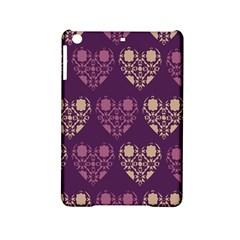 Purple Hearts Seamless Pattern Ipad Mini 2 Hardshell Cases