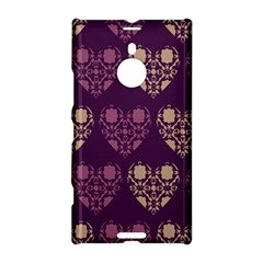 Purple Hearts Seamless Pattern Nokia Lumia 1520
