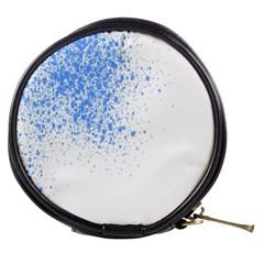 Blue Paint Splats Mini Makeup Bags