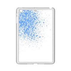 Blue Paint Splats Ipad Mini 2 Enamel Coated Cases