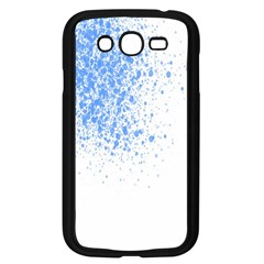 Blue Paint Splats Samsung Galaxy Grand DUOS I9082 Case (Black)