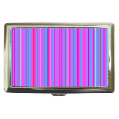 Blue And Pink Stripes Cigarette Money Cases