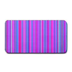 Blue And Pink Stripes Medium Bar Mats