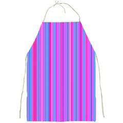 Blue And Pink Stripes Full Print Aprons