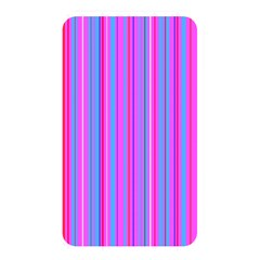 Blue And Pink Stripes Memory Card Reader