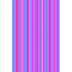 Blue And Pink Stripes 5.5  x 8.5  Notebooks