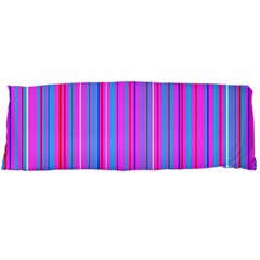 Blue And Pink Stripes Body Pillow Case Dakimakura (Two Sides)