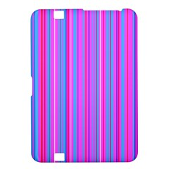 Blue And Pink Stripes Kindle Fire HD 8.9