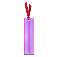 Blue And Pink Stripes Small Book Marks
