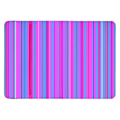 Blue And Pink Stripes Samsung Galaxy Tab 8 9  P7300 Flip Case