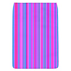 Blue And Pink Stripes Flap Covers (S)