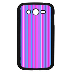 Blue And Pink Stripes Samsung Galaxy Grand DUOS I9082 Case (Black)