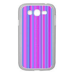Blue And Pink Stripes Samsung Galaxy Grand Duos I9082 Case (white)