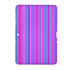 Blue And Pink Stripes Samsung Galaxy Tab 2 (10 1 ) P5100 Hardshell Case